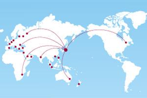 ATSUMIの製品は世界各国で使われています。