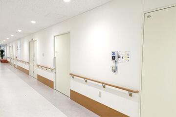 医療施設の防犯設備設置イメージ