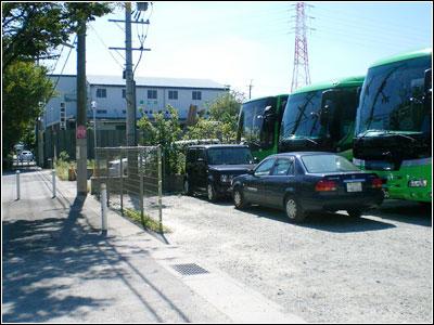 【運送会社】駐車場外周警備システム