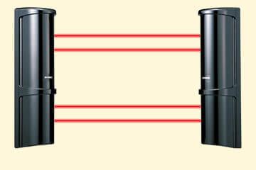 小動物や落葉など、誤報要因に対する信頼性が大幅に向上した赤外線センサー。