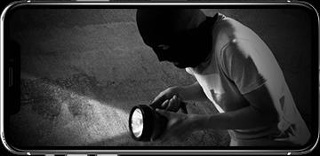 日本防犯設備の防犯カメラ・セキュリティシステムは、異常を確認した際、即時に現地の映像を確認することができます。