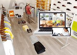 PC・スマホで遠隔監視、店舗管理・従業員管理・防犯対策「多拠点一括監視システム」の詳細はこちらから