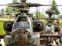自衛隊基地への防犯カメラや防犯機器の設置・導入を実施