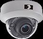 日本防犯設備が取り扱うTVI屋内用ドームカメラ