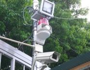 銘板924枚の盗難|防犯カメラの日本防犯設備