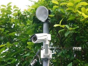防犯カメラを屋外で録画する方法