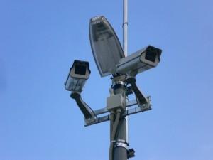 工事機材の連続盗難|防犯カメラの日本防犯設備