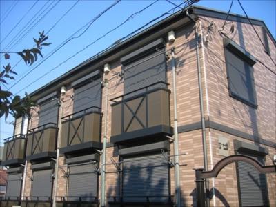 株式会社日本防犯設備 【賃貸アパート】AHD屋外防犯カメラシステム