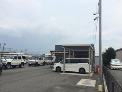 【車両製造販売会社】屋外HD防犯カメラシステム