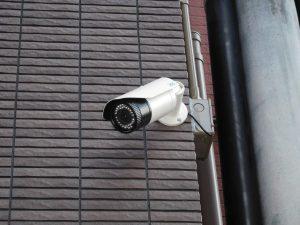 アパートへの防犯カメラ設置