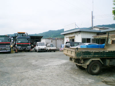 株式会社日本防犯設備 【資材置き場】夜間侵入警戒システム