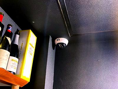 株式会社日本防犯設備 【Bar】店舗マネジメント遠隔監視カメラ