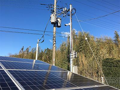 株式会社日本防犯設備 【太陽光発電】太陽光パネル設置現場監視システム