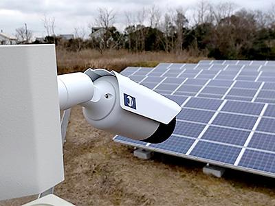 株式会社日本防犯設備 【太陽光発電所】太陽光パネル 遠隔監視システム