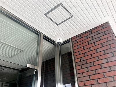 【スポーツ施設】スポーツ施設高画質監視システム