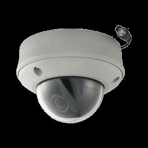 ワンケーブル屋外用ドーム型デイナイトカメラ
