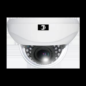 243万画素AHDワンケーブル屋内赤外線ドームカメラ(20m)【JSD401VP-F】