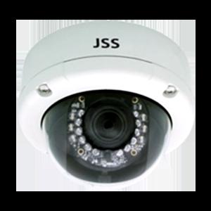 赤外線照射機能付き200万画素屋内屋外両用ドームIPカメラ【JSD501IP】