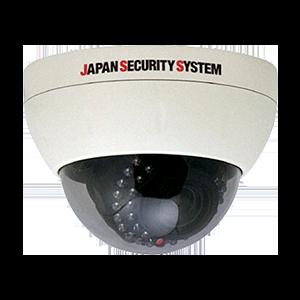 AHD対応1.3メガピクセル屋内屋外両用IRドームカメラ【JSD502】