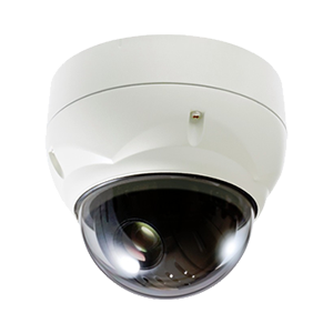 AHD対応200万画素耐衝撃PTZカメラ