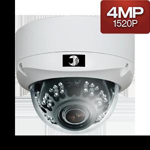400万画素AHD赤外線ドームカメラ(20m)【JSD501-4M】