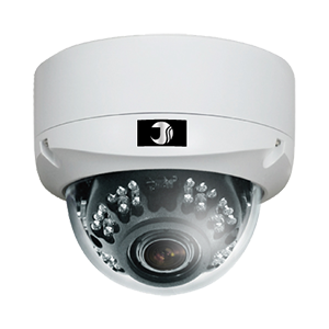 243万画素AHDワンケーブル赤外線ドームカメラ(20m)【JSD501VP-F】