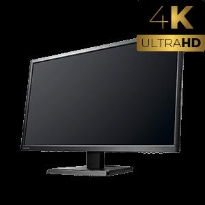 4K対応 27型ワイド液晶モニター【LCD-M4K271XDB】