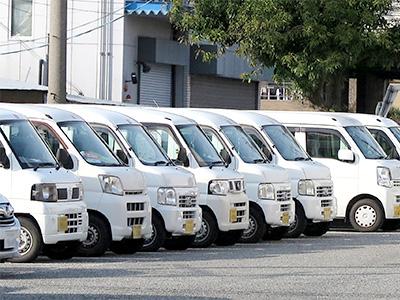 【駐車場】車両盗難防止対策遠隔監視カメラシステム