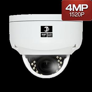 400万画素IP赤外線ドームカメラ