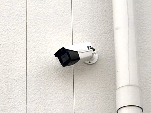 株式会社日本防犯設備 【賃貸アパート】フルHD遠隔監視カメラシステム