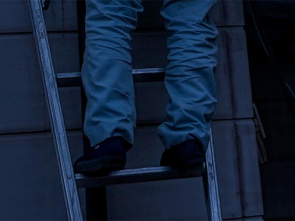 【大阪府】脚立を使い民家に侵入「真夜中の脚立男」逮捕