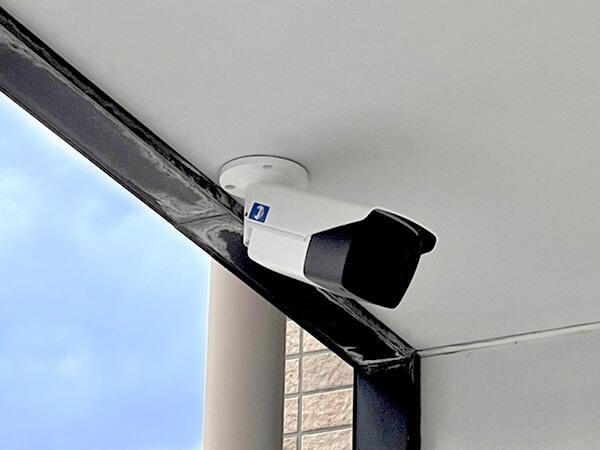 【アパート】ネット回線不要遠隔監視カメラシステム