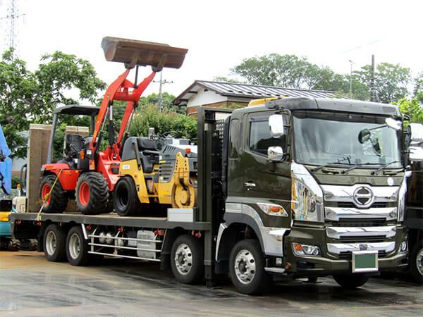 【茨城県】窃盗被害後、元に戻されたトラック