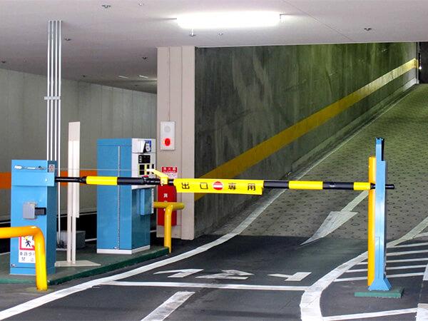 【立体駐車場】赤外線監視カメラシステム